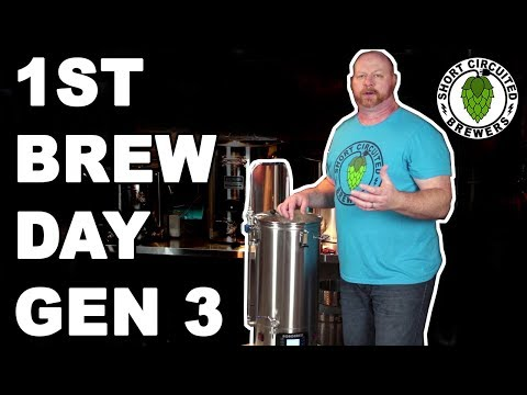 ROBOBREW V3 1st Brew Day | Complete Delayed Start And Mash Step Programming Included