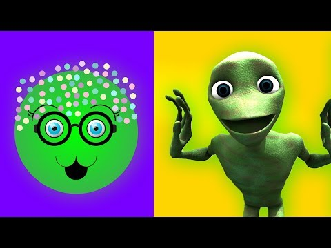 Colorful Cake Pop With Ice Cream | Alien Cake Pop Dance Dame Tu Cosita Song for Kids