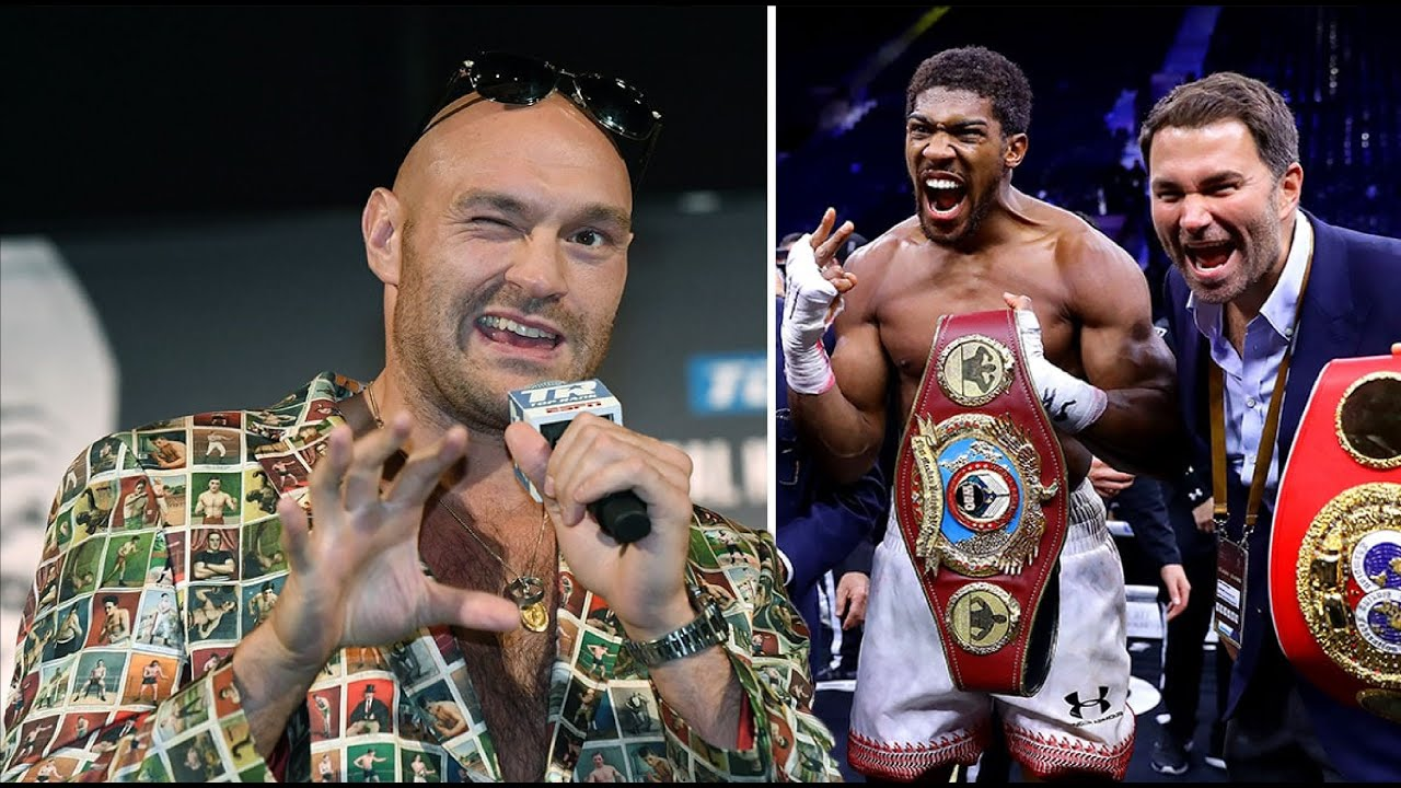 Tyson Fury urges Anthony Joshua to vacate and fight him without Undisputed!!