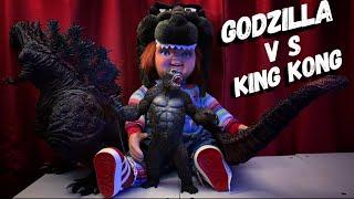 Shin Godzilla V S King Kong Réplica 😱( シンゴジラ) And Chucky , Review En Español