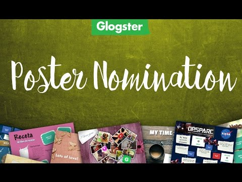 Glogster - How to Nominate Your Posters (Glogpedia Library)