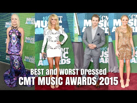 CMT Music Awards 2015 Red Carpet Fashion