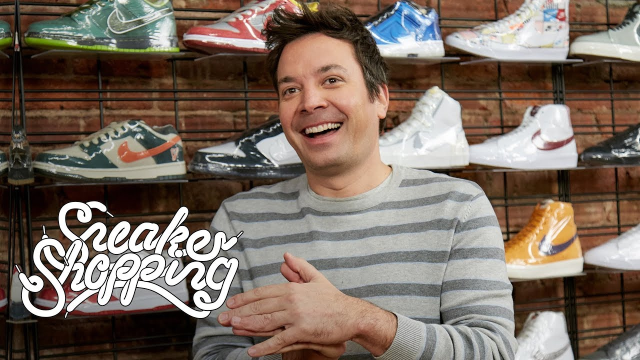 complex sneaker shopping