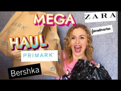 HAUL PRIMARK ZARA STRADIVARIUS/TRY ON/MAYO 2019