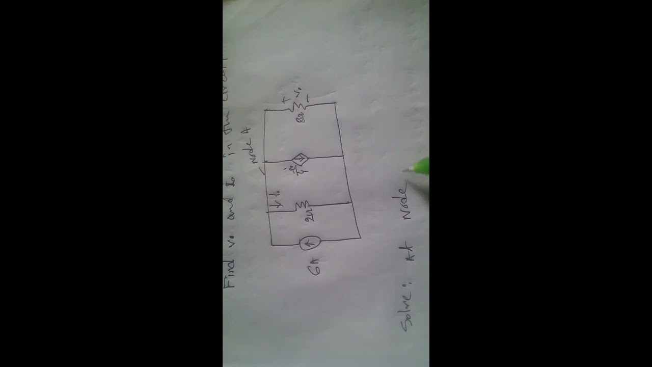 Practice Problem 2 7 Alexander And Sadiku Youtube