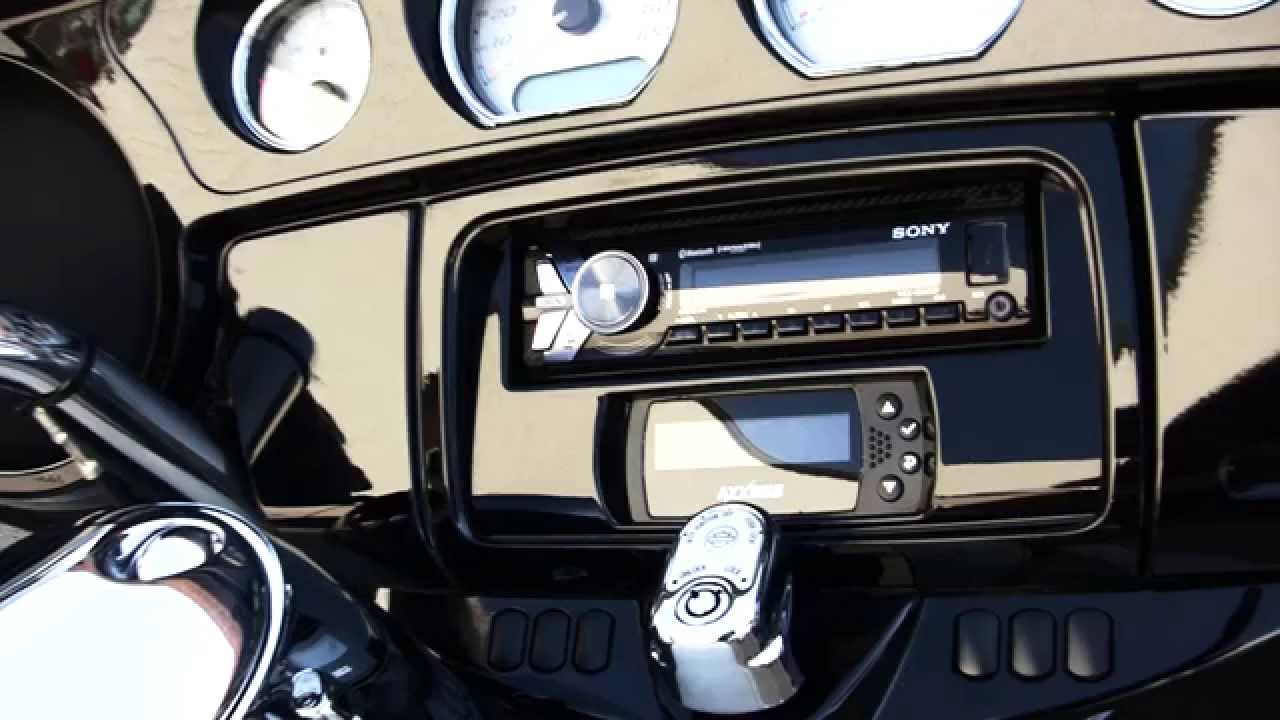 hight resolution of metra harley davidson motorcycle models stereo dash kit 99 9700 youtube