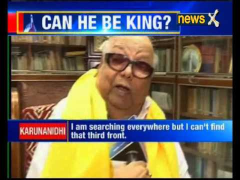 NewsX exclusive interview with DMK chief Karunanidhi