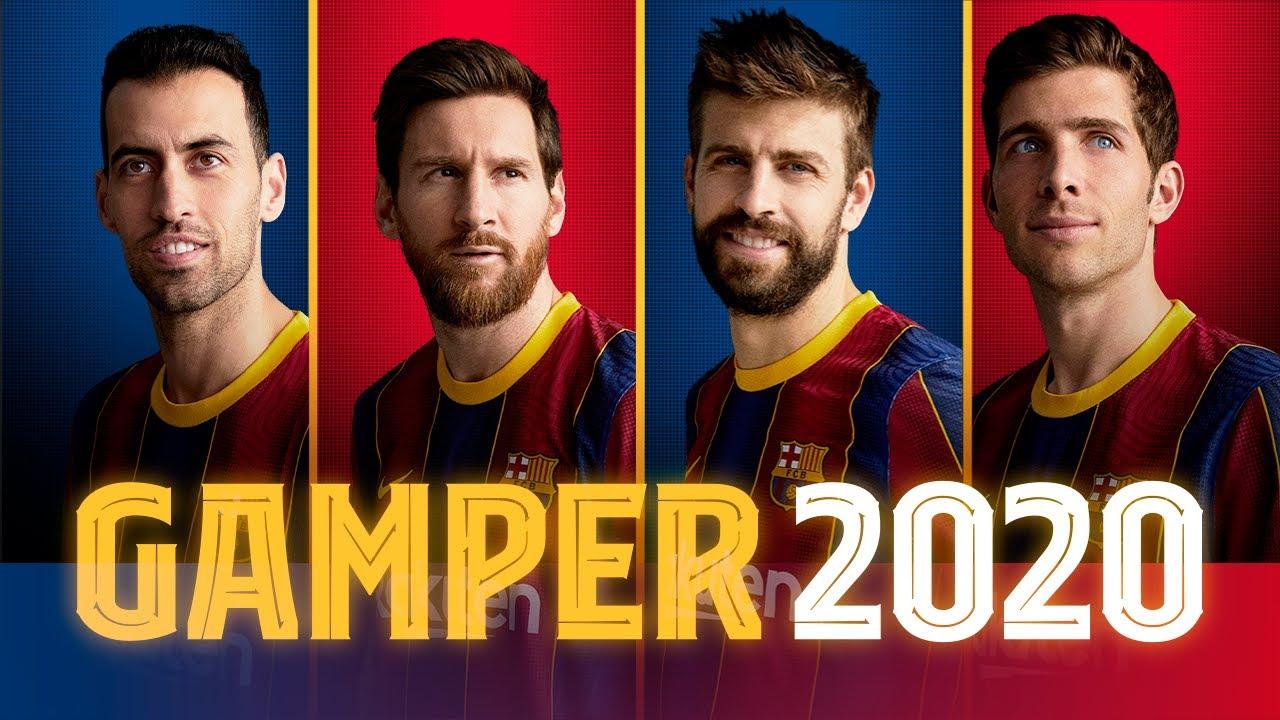 FC Barcelona 20/21 squad presentation | Joan Gamper Trophy 💙❤️ - YouTube
