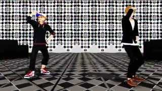 【Hetalia MMD】Teach Me How To Jerk 【USA & UK】