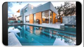 Blue Modern Home Architecture