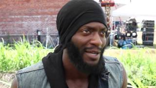 HipHollywood was on the set of the new WGN America drama 'Underground' and spoke to star Aldis Hodge about shooting the difficult scenes.