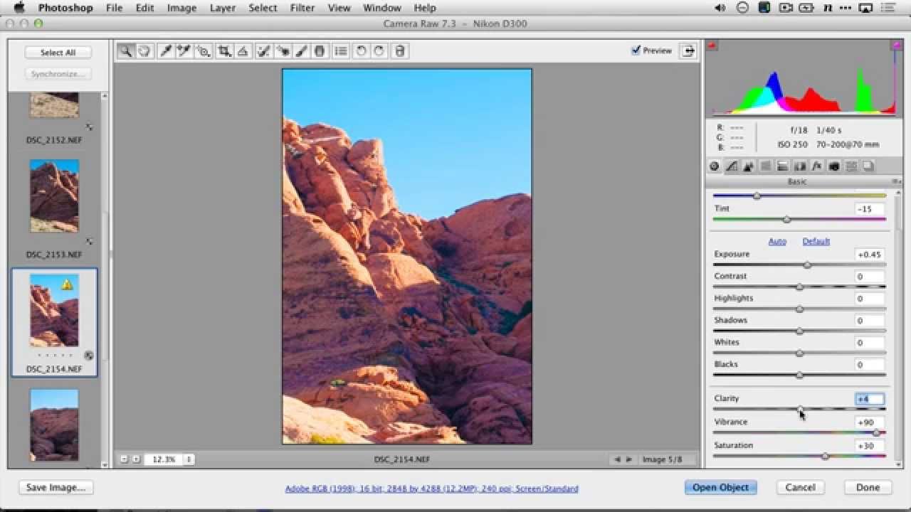 Synchronize Camera Raw Settings in Photoshop | Photofocus