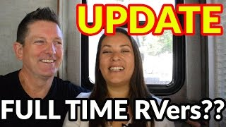 RV Living | An Update On Our RV Living Experiment | Vlog062
