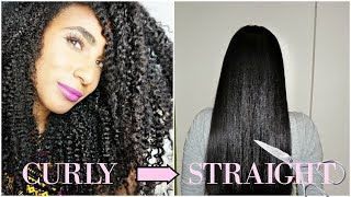Curly to straight she just kept on cutting LFW, Loreal  | VLOG