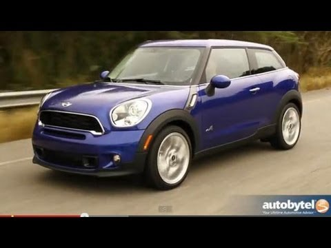 2013 MINI Paceman S AWD Test Drive & Compact Crossover Video Review