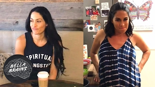Would Daniel Bryan's Bella Brains question stump you?  See how Brie and Nikki answered 😂