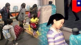 Мамаша забыла спящую дочь в поезде скоростной железной дороги