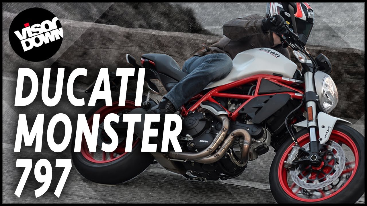 ducati monster 797 first ride review | visordown motorcycle