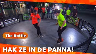 RON SCHAKELT DE VAR IN | BATTLE FREESTYLE VOETBAL | ZAPPSPORT