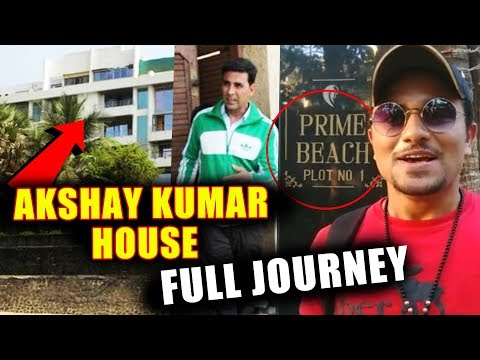 Akshay Kumar House In Mumbai  Prime Beach  Full Journey Video  VLOG 1