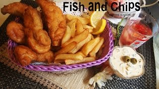 Fish And Chips Junk Food Recipe