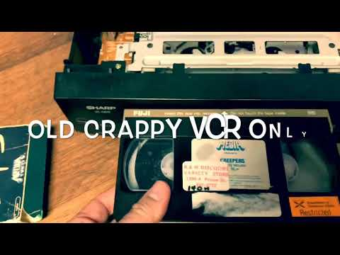 How to clean moldy vhs tapes!