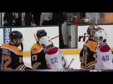 What Milan Lucic Said to Weise During the 2014 Playoffs