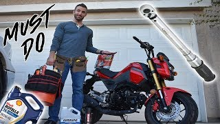 Bought a Used Grom? 5 Must Do's Before You Ride!