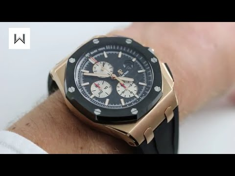 Audemars Piguet Royal Oak Offshore Chronograph Ref. 26401RO.OO.CA.01 Watch Review