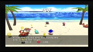 Sonic Shuffle 4 Player Vs Mode (Dreamcast Full Gameplay)