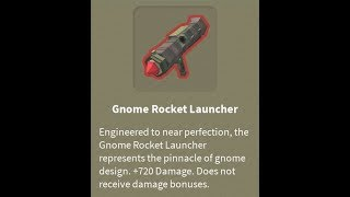 (Roblox) Fantastic Frontier:Buying the Gnome Rocket Launcher