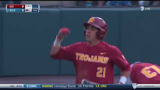 Men's Baseball Highlights 4/21/18:  USC 2, UCLA 19