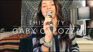 Here's a short video of this city by sam fischer. i love song! follow my instagram! -- @gabycapozza