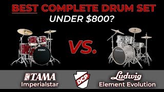 Tama Imperialstar vs. Ludwig Element Evolution Drum Set - In Depth Review