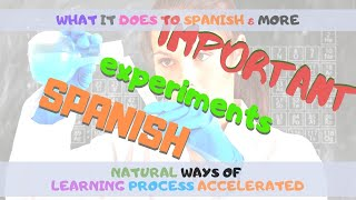 My Laptop Was Stolen - I Take This As An Opportunity To Do My Experiment - The Way I Learned Spanish