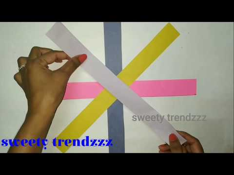 how to make a paper ball | paper ball diy | origami ball | sweety trendzzz