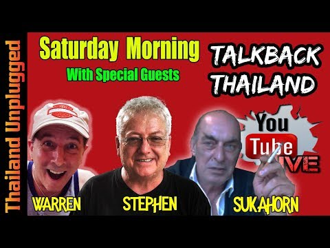 TalkBack Thailand Saturday Morning with Thailand Unplugged #017