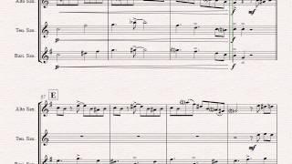 Tico-Tico no Fubá - Choro - Saxophone Trio