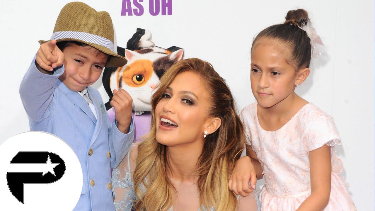 Jennifer Lopez : Radieuse avec ses enfants pleurnichards. - YouTube: http://www.youtube.com/watch?v=zbO7-OfWaxI