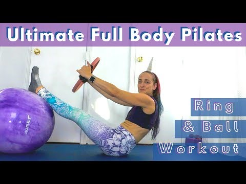 Ultimate Full Body Ball & Pilates Ring Workout 20 Minutes