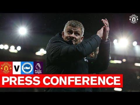 Manager's Press Conference | United v Brighton | Premier League