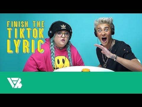 Finish The TikTok Lyric: Lauren Godwin And Sebastian Bails