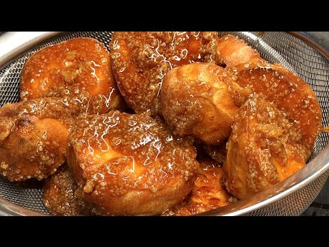 Kamote Que or Camote Que (Caramelized Sweet Potatoes)