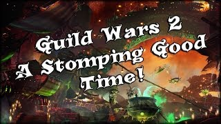 Guild Wars 2 - A Stomping Good Time Achievement!