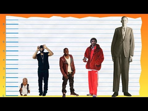 How Tall Is Usher? - Height Comparison!