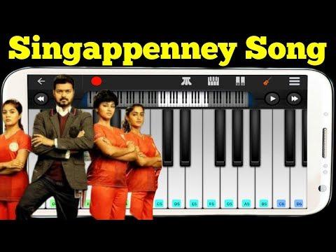 singapenney-song-|-piano-tutorial-|-bigil-|-vijay-|-singappenney-song-|-keyboard-wonder-|-bigil-song