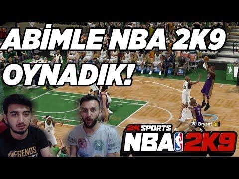 """ABİMLE """"NBA 2K9"""" OYNADIK!!! MUCİZELERİN MAÇI :D NBA Nostaljisi #1"""