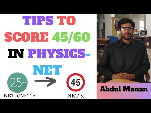 Repeat Tips to Score 45/60 in Physics by Abdul Manan Khan