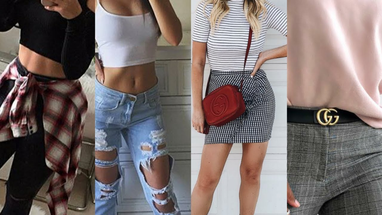 Baddie Back To School Outfit Ideas You Have To Try Out Youtube