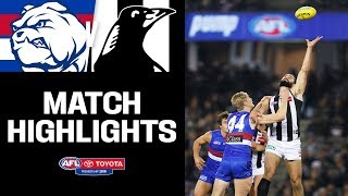 Grundy puts on a clinic | Western Bulldogs v Collingwood Highlights | Round 14, 2019 | AFL